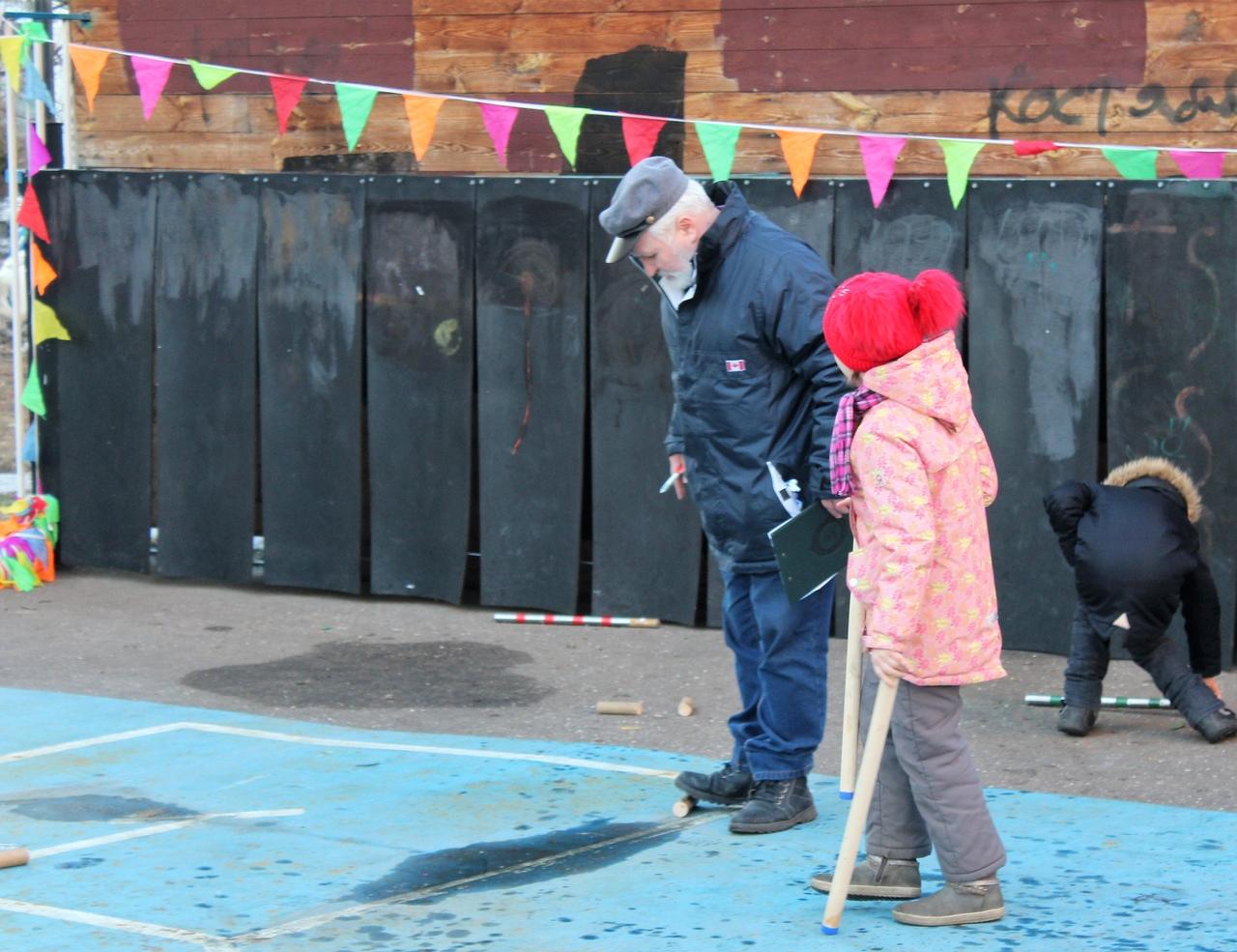 В Северном Бутове прошли районные отборочные соревнования по городошному спорту