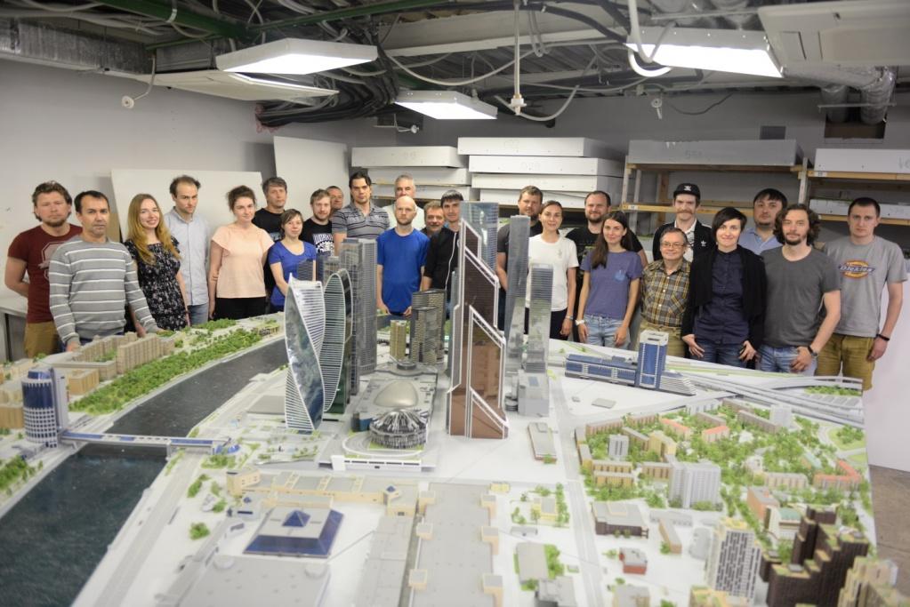 Посмотреть на миниатюрный «Москва-Сити» жители столицы смогут до 7 июня в «Доме на Брестской»
