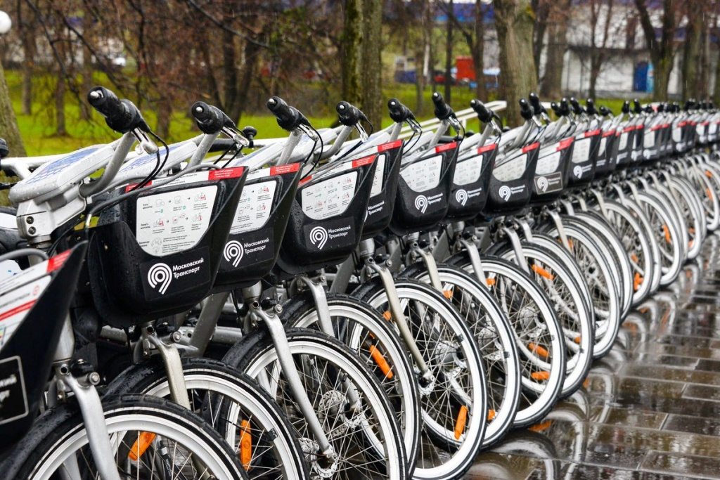 В этом году популярность велопроката в Москве снова возросла