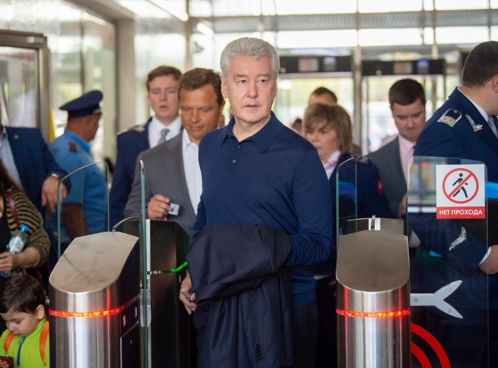 Собянин: Продление линии метро до Троицка разгрузит оранжевую ветку