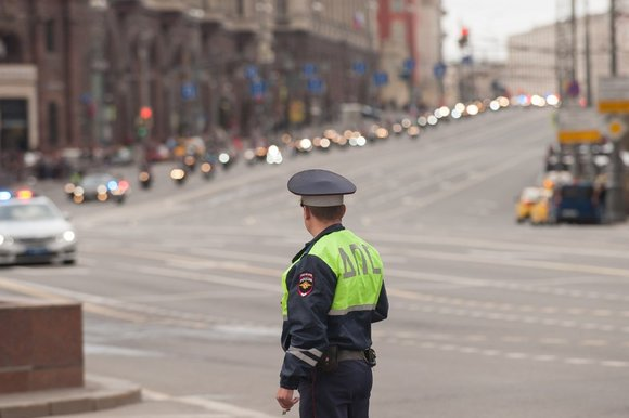 В ГИБДД сообщили о сокращении числа ДТП в Москве с начала года