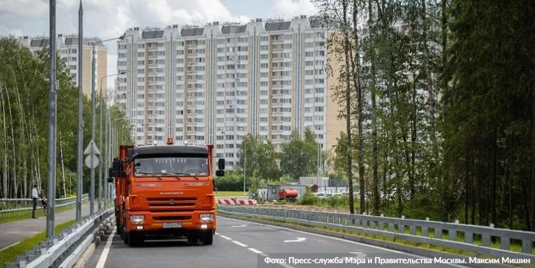 За время действия «Грузового каркаса» в жилых зонах Москвы стало тише